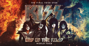 2 Lower Bowl Kiss Tickets March 20 Face Value