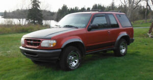 1998 Ford Explorer Sport SUV, Crossover
