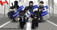 POLICE SWAT Heavy Fire Special Weapons And Tactics Lego