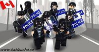 POLICE SWAT Heavy Fire Special Weapons And Tactics Lego...