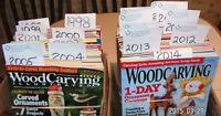 1997 TO 2014 COMPLETE WOOD CARVING ILLUSTRATED COLLECTION