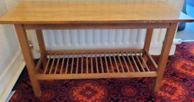 Mid century modern Danish style teak coffee table