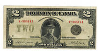 Dominion of Canada $2 Note 1923 DC-26K