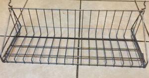7- 20 X 7 slot wall shelves ( Wire )