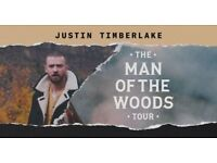 Justin Timberlake x4 - Man Of The Woods Tour Tickets - O2 Arena London 9th July