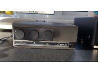 Cyrus Two Amplifier, Marantz CD 50 CD Player & Speaker