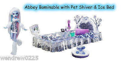 Abbey Bominable Doll W/pet