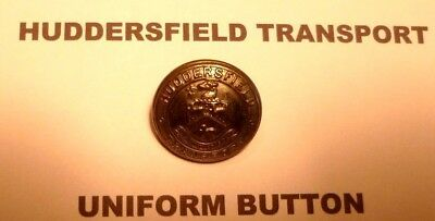 HUDDERSFIELD TRANSPORT: BUS/TRAM UNIFORM BUTTON