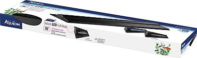 "Aqueon Deluxe Aquarium LED light Full Hood 36"" fit 30/38/45 gallon fish tanks"