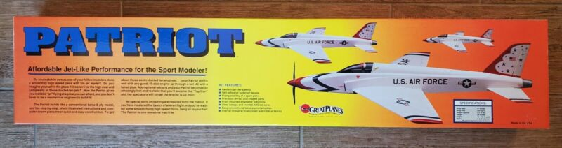 GREAT PLANES PATRIOT NEW OLD STOCK RC REMOTE CONTROL TOUGH TO FIND