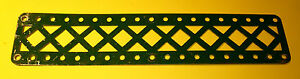 Meccano dark green Braced Girder, part 99a