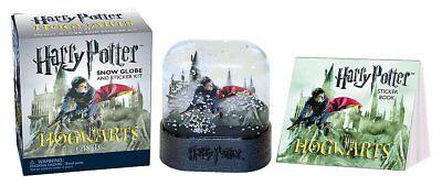 Harry Potter Schneekugel+Stickerbuch (Miniatur)