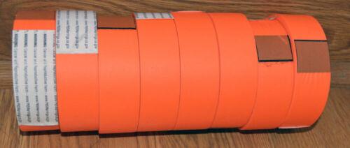 "(8) Fluorescent Orange Surveying, Marking, Flagging, Tape 1-3/16"" x 300 ft Roll"