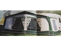 Caravan Bradcot awning and accessories