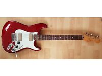 Fender Strat 'Blacktop' series stunning condition CAR/RW