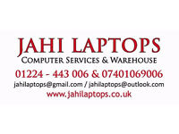Call: 01224443006 Jahi Laptops - Computer Repair & Services. No Fix No Charge. Free Estimates.