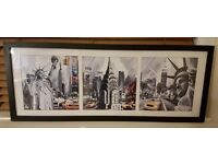 New York Framed Picture