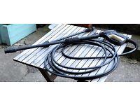 Pressure Washer lance, hose