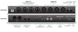 Apogee Element 88 thunderbolt audio interface