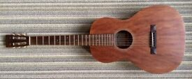 Sigma 00M-15S all mahogany parlour guitar. Lightweight hard case included.
