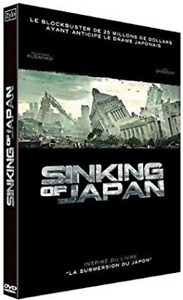 SINKING OF JAPAN. VERSION FRANÇAISE. CATASTROPHE SCIFI +PAL/R2+