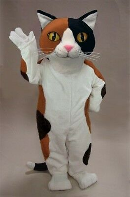 Calico Cat Mascot Costume