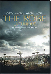 THE ROBE/LA TUNIQUE. DVD. JÉSUS, BIBLE, RICHARD BURTON