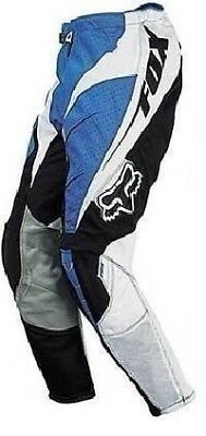 Fox Racing Mens Vented Strafer Motocross MX Pants Blue 04168 New In Stock