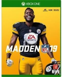 Madden 19 - Xbox One - New / Sealed with  pre-order bonus