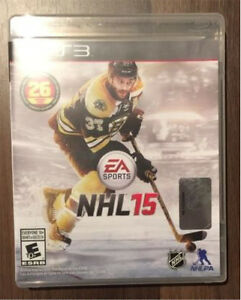 Collection NHL EA sports sur PS3 ( 8 jeux )