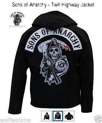 sons of anarchy jacket ebay. Black Bedroom Furniture Sets. Home Design Ideas
