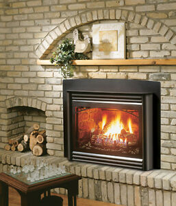 Kingsman Direct Vent GasInsert Fireplace