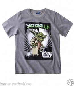 Star Wars - The Clone Wars- T Shirt Gr.140/146, 116/122, 128/134, 152/158 NEU
