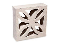 Leaf design concrete screen blocks wanted.