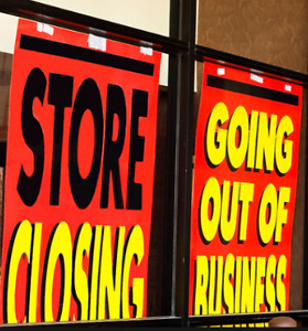 Clothing Store Closing Sale