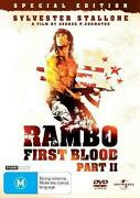 Rambo First Blood DVD