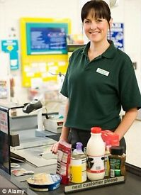 Sales Assistant required at local convenience store OR supervisor