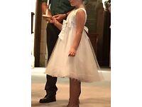 Girls bridesmaid / baptism dress 8 years