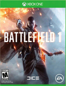 Battlefield 1 for Xbox one NO TRADES.