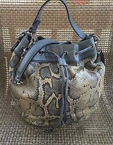 Coach RARE Madison Python Bag