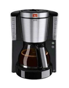 Melitta Look IV Deluxe 1011-06 Schwarz Filter-Kaffeemaschine 1000 Watt