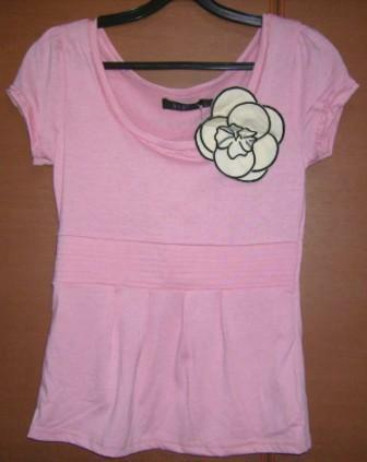 Brand new pink top from BYSI