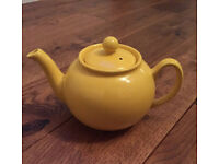Small yellow Tea Pot