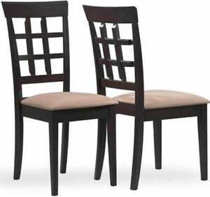 Monarch I1298 Cappuccino Dining Chair - New!!