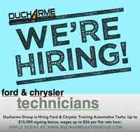 Ford and Chrysler Technicians