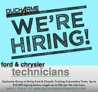 Ford and Chrysler Techs