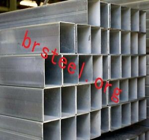 Hollow Section Square Rectangular Carbon Steel Pipes Hot Rolled