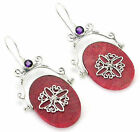 Red Coral Coral Sterling Silver Body Jewelry