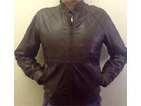 Job lot mens sheepskin and leather coats x5 vintage retro 70s