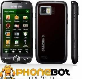 NEW Samsung OMNIA ICON 3G with 8GB Internal Storage @phonebot St Kilda Port Phillip Preview